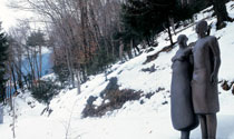 Giardino di Sculture in Inverno